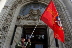 El partido comunista estaría atravesando un nuevo quiebre con la Nueva Mayoría. Foto:Agencia UNO. Imagen Por: