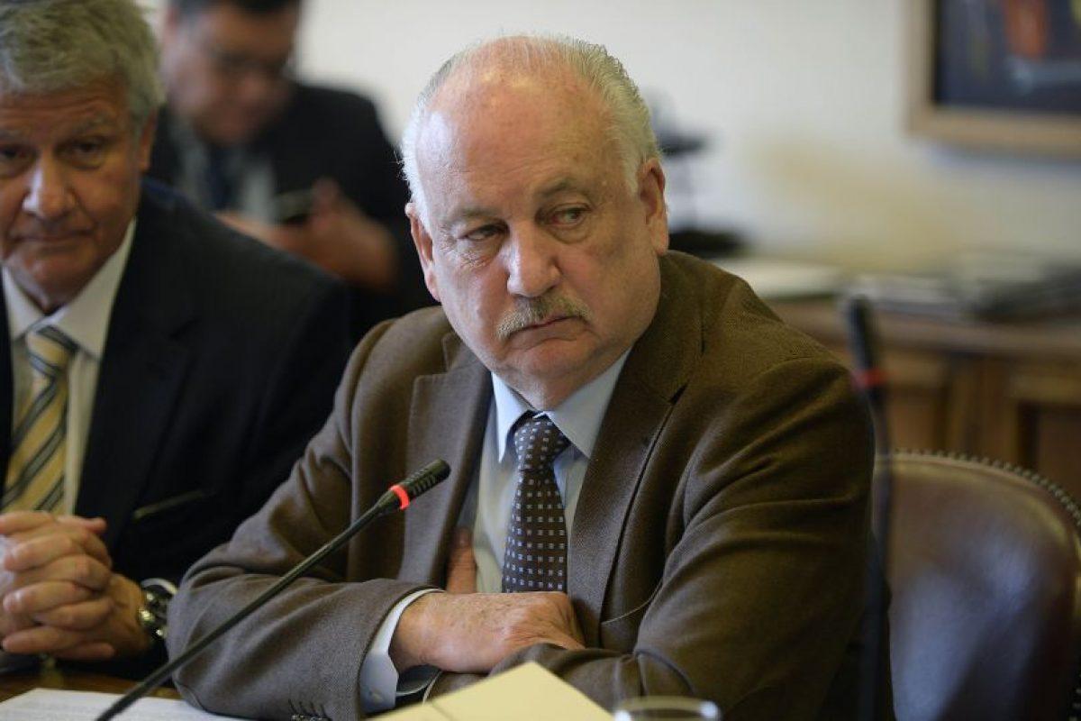 Guillermo Tellier, presidente del Partido Comunista. (archivo) Foto:Agencia UNO. Imagen Por: