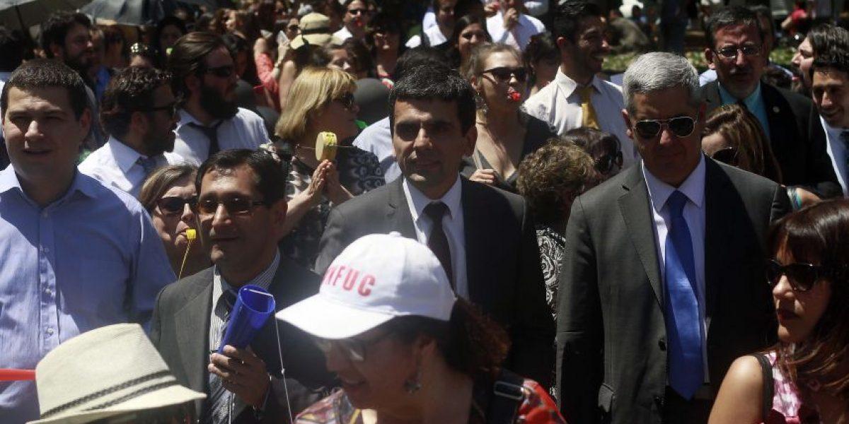 Así fue la inédita protesta conjunta de jueces, fiscales y defensores públicos por reajuste