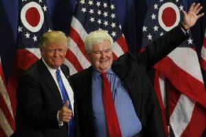 Newton Gingrich, ex vocero de los Representantes republicanos, suena para ocupar el Departamento de Estado. Foto:AFP. Imagen Por: