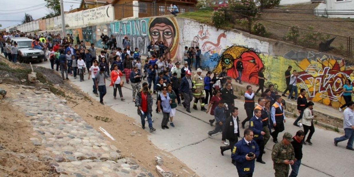Coquimbo: 90 mil personas evacuaron borde costero por simulacro de terremoto y tsunami