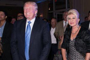 Donald e Ivana Trump durante una actividad el 2014 Foto:AFP. Imagen Por:
