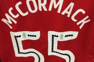 Joshua McCormack es un pequeño niño de cinco años que fue incluido como suplente en Rochdale Foto:Twitter Rochdale. Imagen Por: