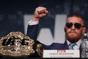 Conor McGregor busca hacer historia en UFC Foto:Getty Images. Imagen Por: