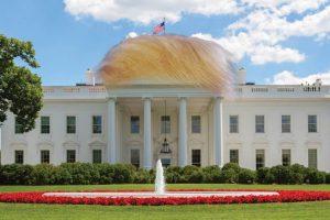 ¿Cómo se verá la Casa Blanca con el Presidente Trump? Foto:Imgur / Reddit. Imagen Por: