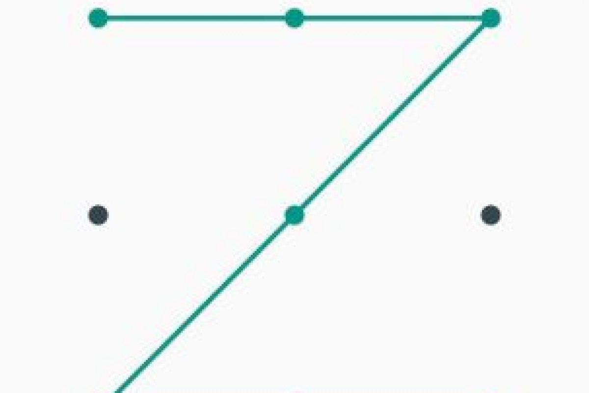 El patrón de desbloqueo más común Foto:Captura. Imagen Por: