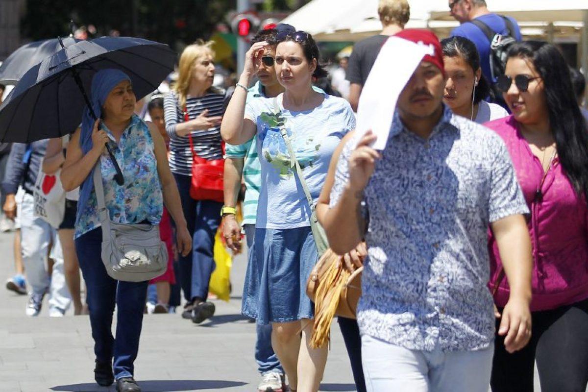 Según el reporte, para la Región Metropolitana se esperan temperaturas cercanas a los 34 grados. Foto:Aton. Imagen Por: