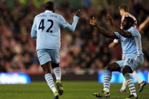 Yaya y Kolo Touré: Encontraron sus caminos en Inglaterra y fue cuando estuvieron juntos en Manchester City. Foto:Getty Images. Imagen Por: