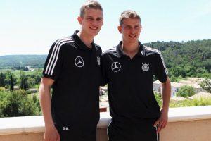 Sven y Lars Bender: Compartieron equipo en el 1860 Munich y se formaron juntos. Ahora cada uno brilla por su lado: Lars está en Bayer Leverkusen y Sven en Borussia Dortmund Foto:Getty Images. Imagen Por: