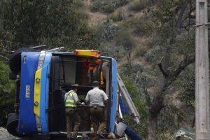 Dos menores de edad habrían fallecido en el accidente. Foto:Aton. Imagen Por:
