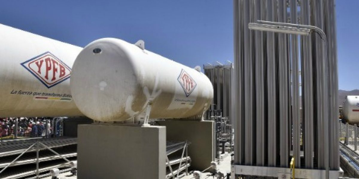 Bolivia registra la mayor producción de gas en su historia