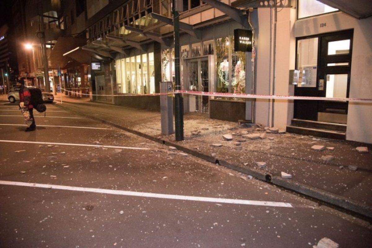 El temblor ocurrió a las 23H00 locales (10H00 GMT) a unos 90 kilómetros de la ciudad de Christchurch, en la isla del Sur, donde un sismo de magnitud 6,3 causó 185 muertos en febrero de 2011. Foto:AFP. Imagen Por: