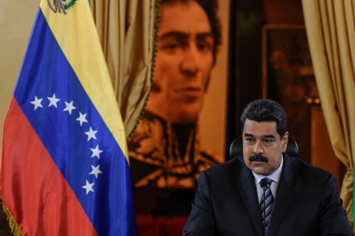 """El presidente Nicolás Maduro destacó que """"va triunfando la paz"""" luego de las tratativas. Foto:AFP. Imagen Por:"""