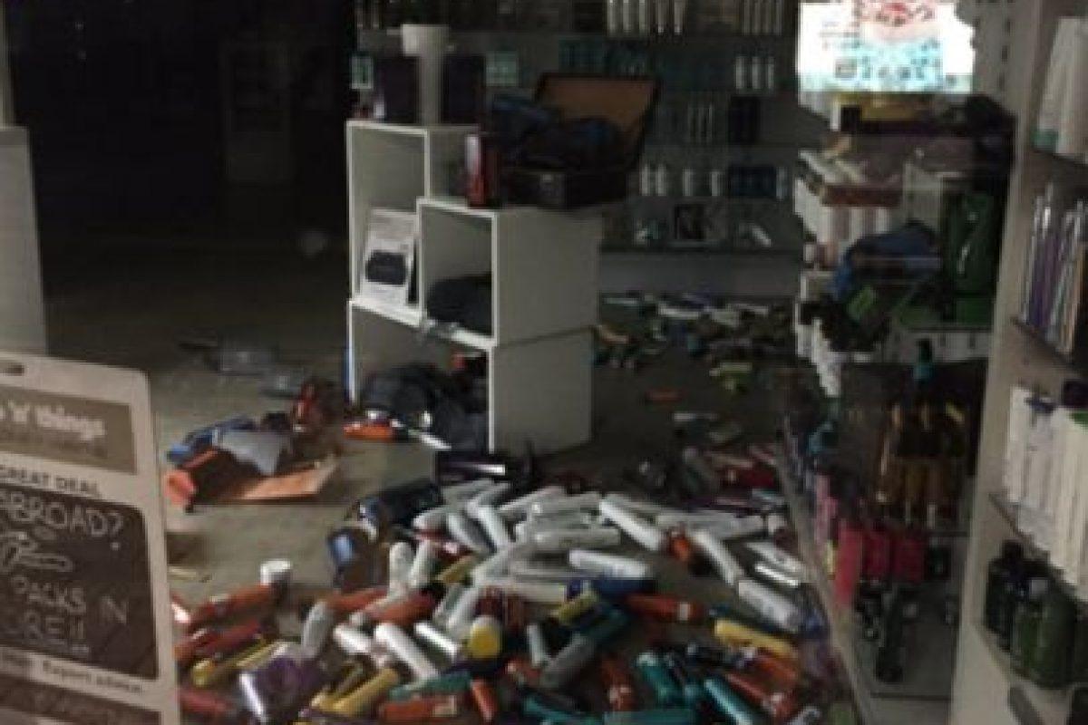 El temblor ocurrió a las 23H00 locales (10H00 GMT) a unos 90 kilómetros de la ciudad de Christchurch, en la isla del Sur, donde un sismo de magnitud 6,3 causó 185 muertos en febrero de 2011. Foto:Reproducción Twitter. Imagen Por:
