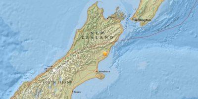 Registran un tsunami de 2 metros en Nueva Zelanda tras sísmo de 7,8 grados