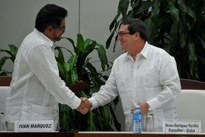 """En La Habana, el gobierno de Juan Manuel Santos y la guerrilla comunista anunciaron un """"nuevo Acuerdo Final para la terminación del conflicto armado. Foto:Afp. Imagen Por:"""