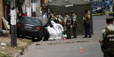 Carabinero de civil es encontrado muerto al interior de un vehículo en Lo Prado