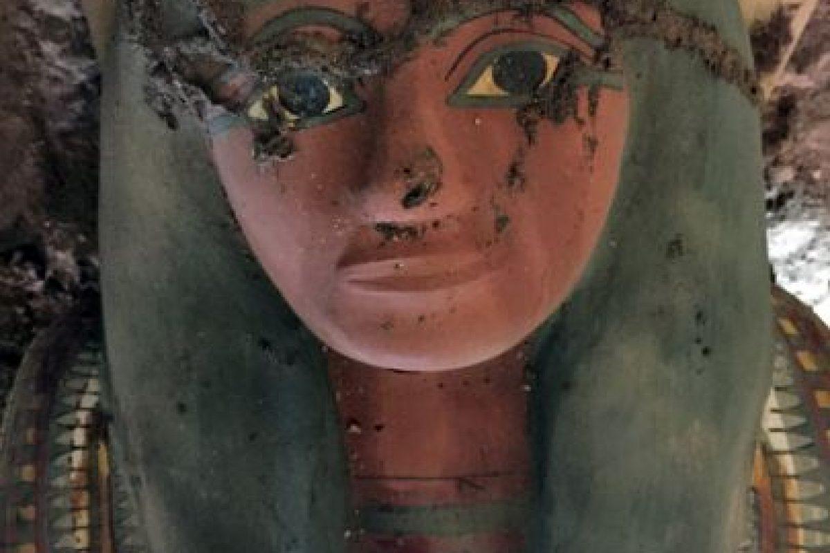 Esta es la momia encontrada en Egipto Foto:AFP. Imagen Por:
