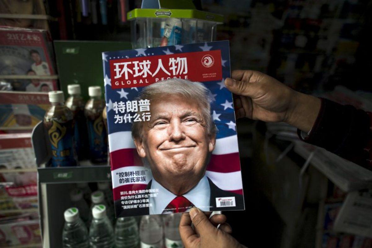 """El muro: Cuando la periodista Lesley Stahl le preguntó a Trump """"¿realmente va a construir el muro?"""", la respuesta fue un rotundo """"sí"""". Foto:AFP. Imagen Por:"""