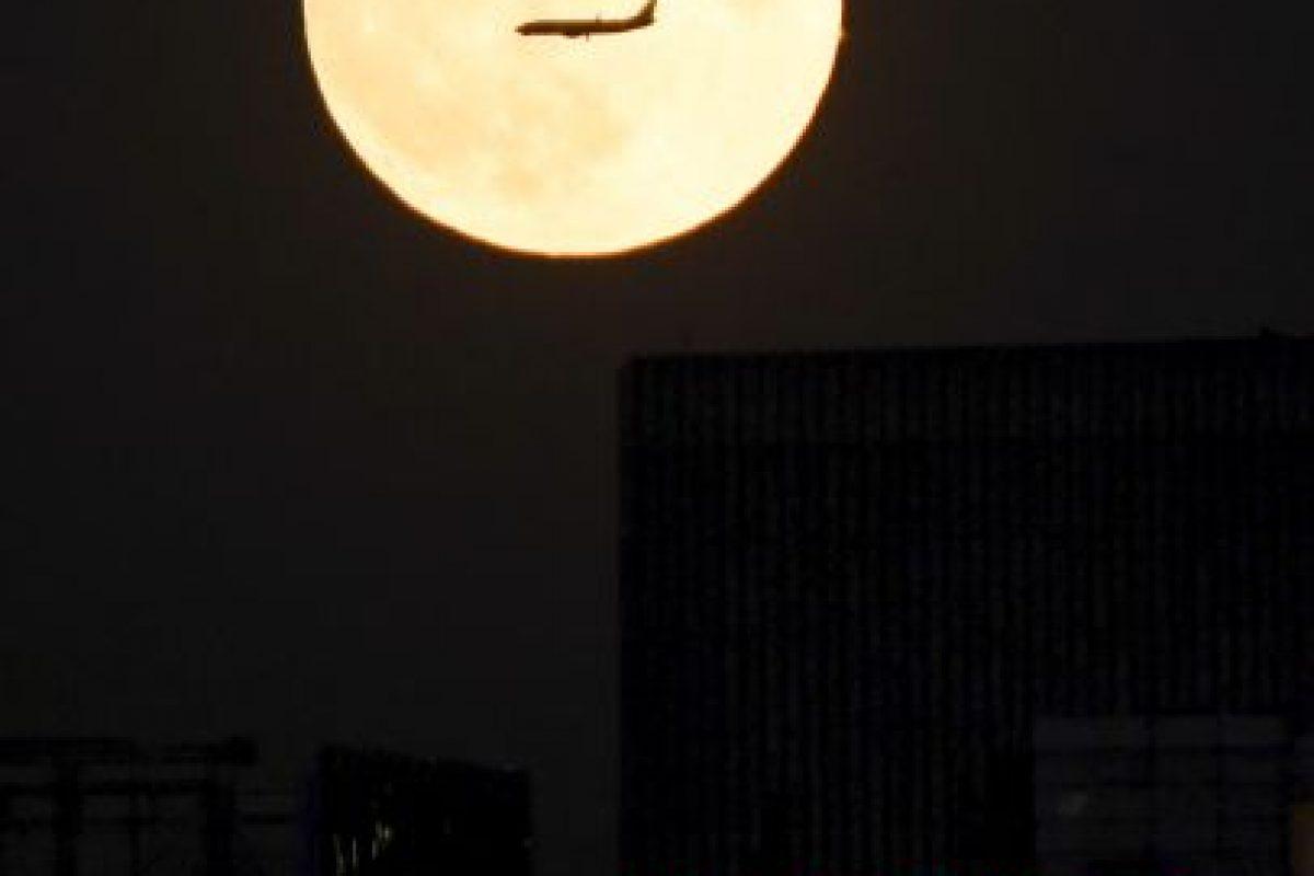 Así se vio en Beijing, China Foto:AFP. Imagen Por: