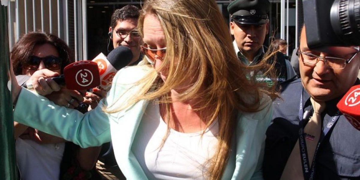 Caval: tribunal rechaza modificar cautelares de Natalia Compagon