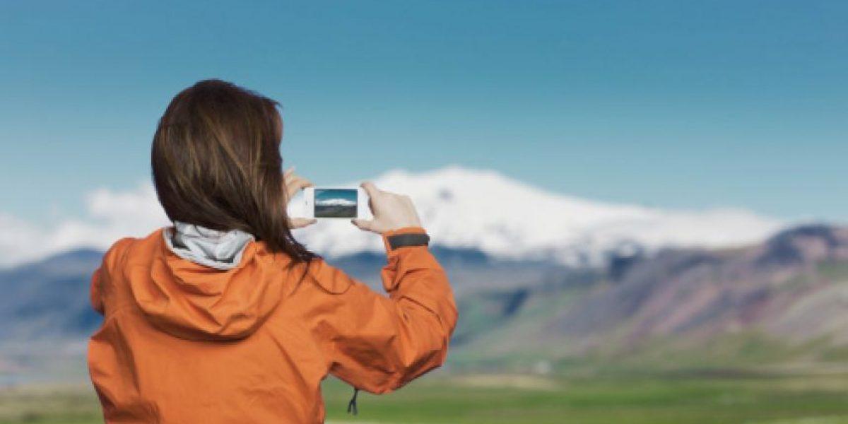 Los celulares son los reyes de la fotografía en vacaciones