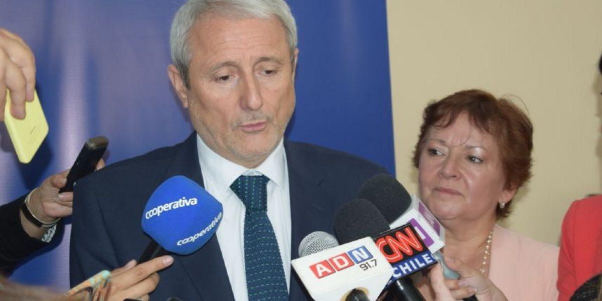 """Cruch le responde a Delpiano por resideño de educación superior: """"Vamos a trabajar desde hoy en las indicaciones"""""""
