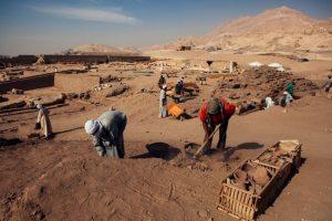 El hallazgo se realizó en el pueblo sureño de Luxor Foto:Getty Images. Imagen Por:
