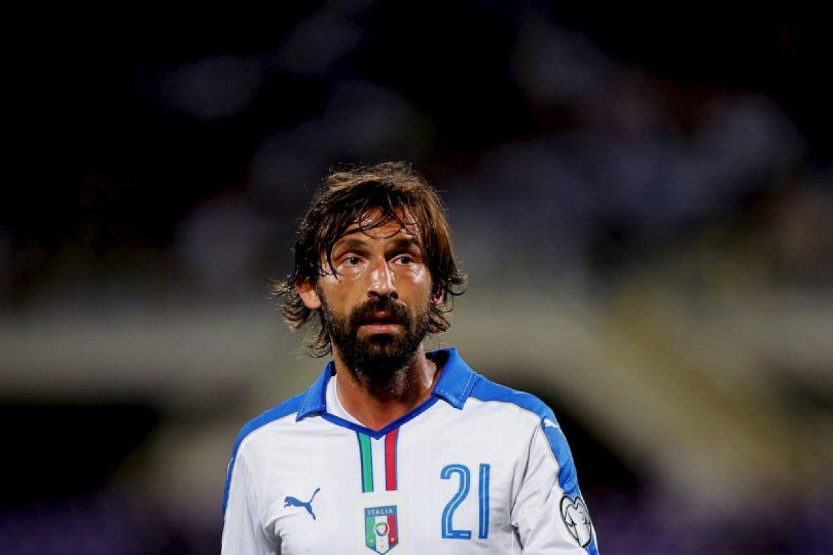 Andrea Pirlo (mediocampista) Foto:Getty Images. Imagen Por: