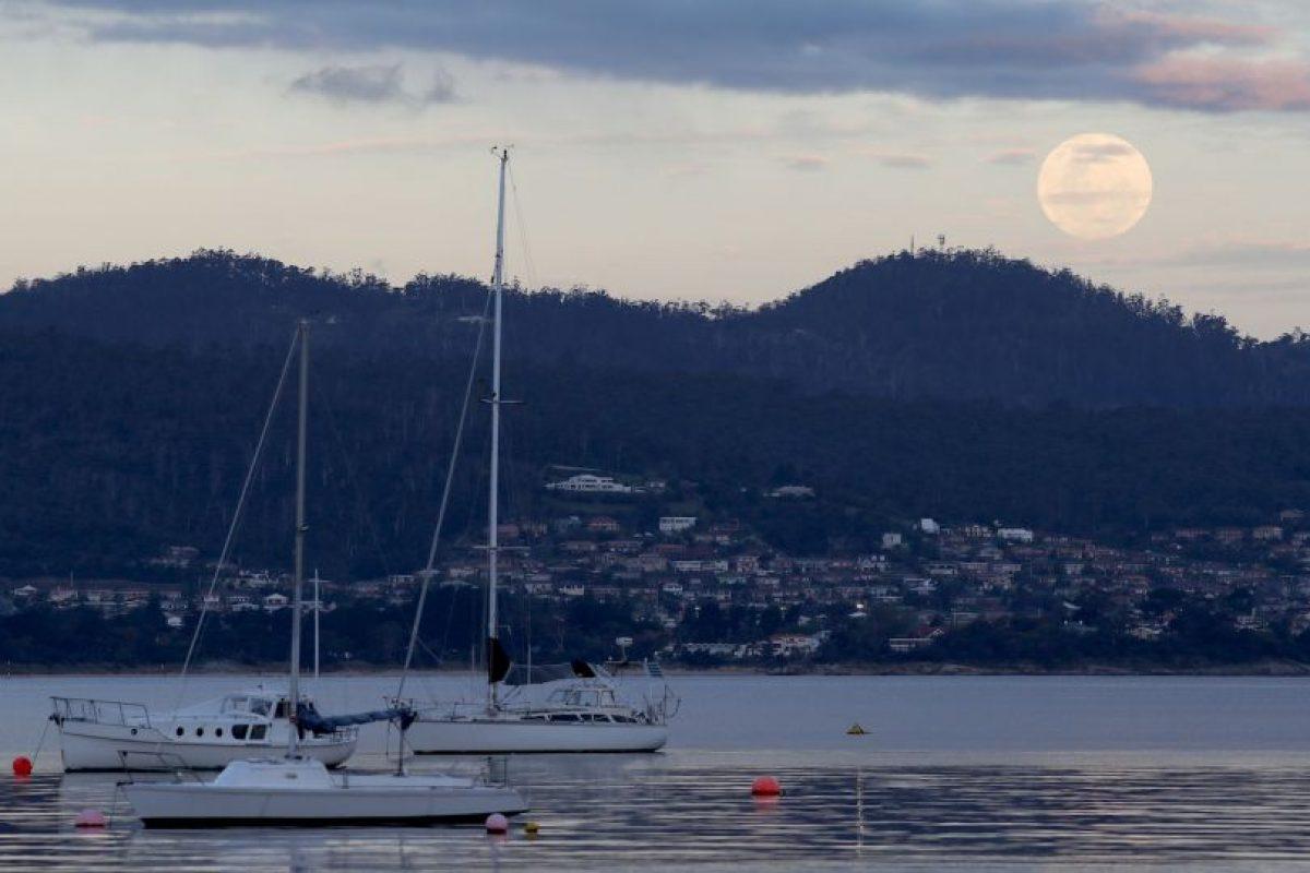 Imágenes captadas en Hobart, Australia Foto:Getty Images. Imagen Por: