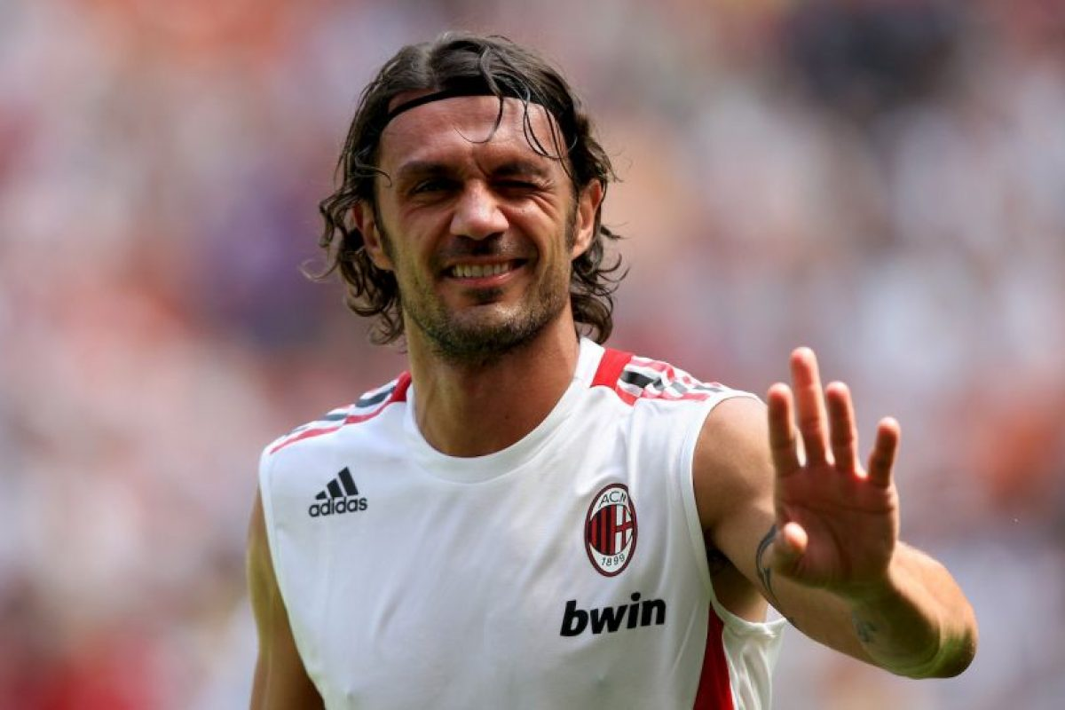 Paolo Maldini (defensa central) Foto: Getty Images. Imagen Por: