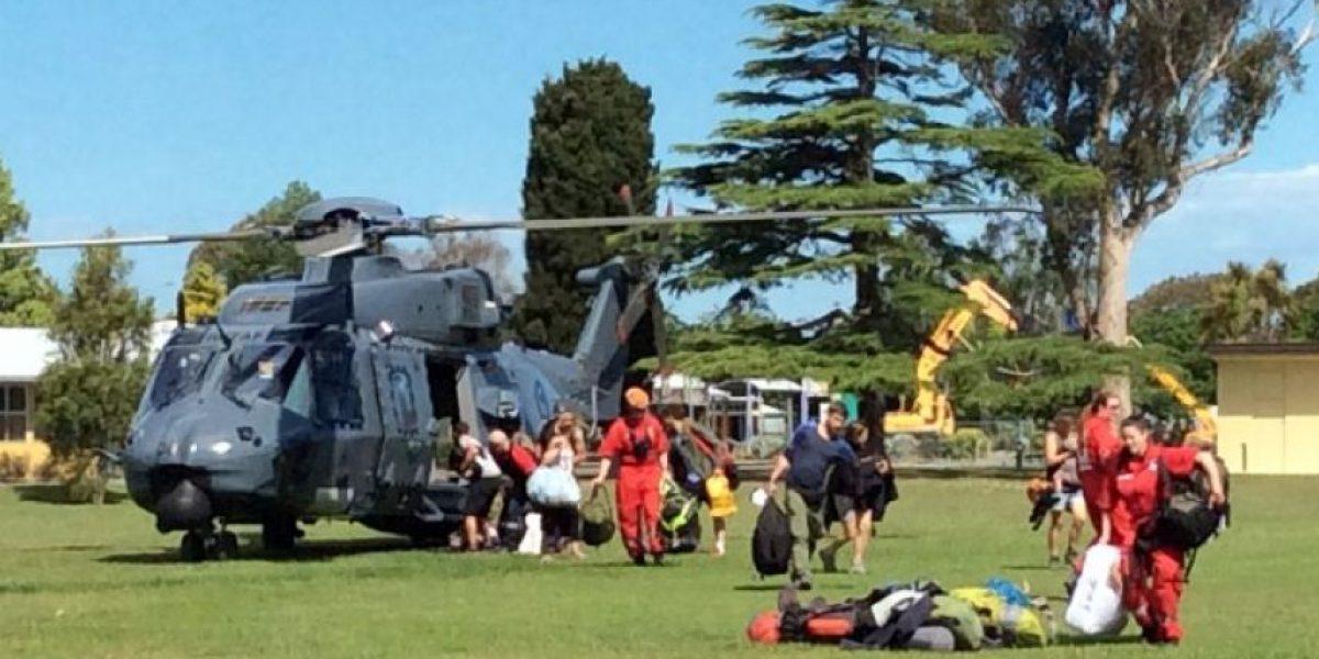 Comienza evacuación de los turistas atrapados tras el terremoto en Nueva Zelanda