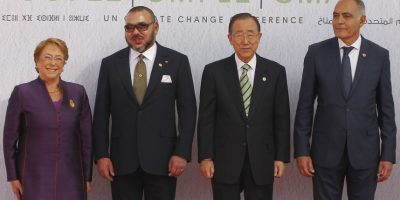 Bachelet anuncia medidas contra el cambio climático durante convención COP22