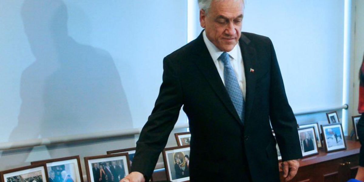 PRO en picada contra Piñera: