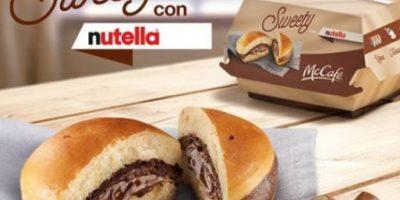 Cadena de comida rápida lanza hamburguesa con nutella