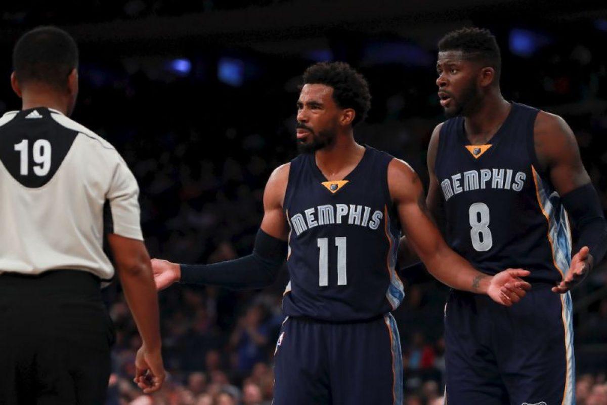 7.- Memphis Grizzlies (NBA) – 7,288,005 millones de dólares de sueldo anual en promedio Foto:Getty Images. Imagen Por: