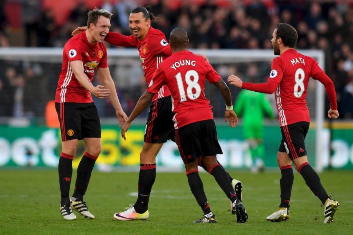 4.- Manchester United (Premier League) – 7,616,400 millones de dólares de sueldo anual en promedio Foto:Getty Images. Imagen Por: