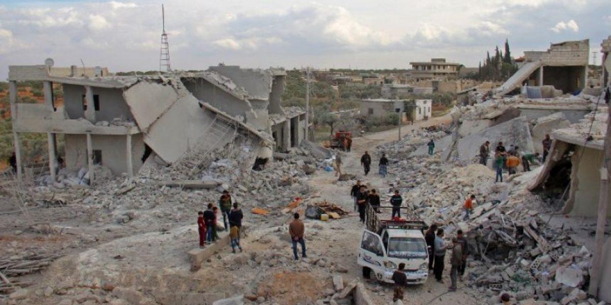 Los aviones del régimen sirio y de su aliado ruso bombardean el sector rebelde de Alepo y la provincia de Idleb