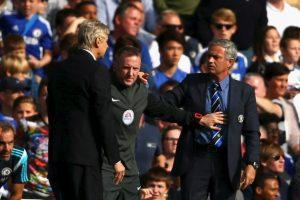 Mourinho y Wenger se han lanzado duras declaraciones cruzadas Foto:Getty Images. Imagen Por: