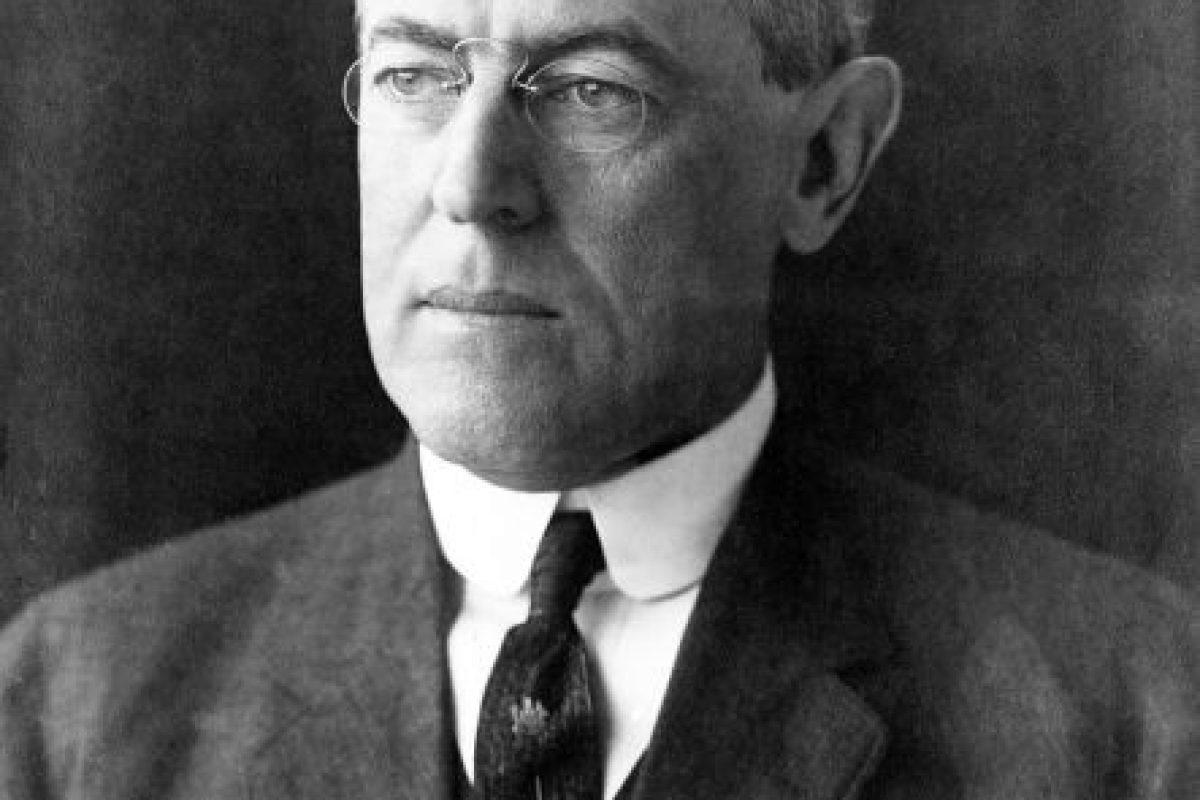Woodrow Wilson. Imagen Por: