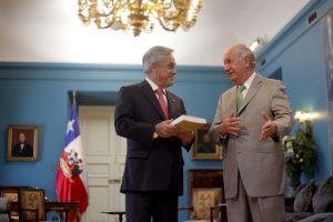 Ambos ex presidentes tienen aspiraciones de volver a La Moneda en las próximas elecciones presidenciales. Foto:Agencia UNO. Imagen Por: