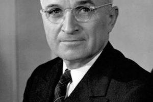 Harry Truman.. Imagen Por: