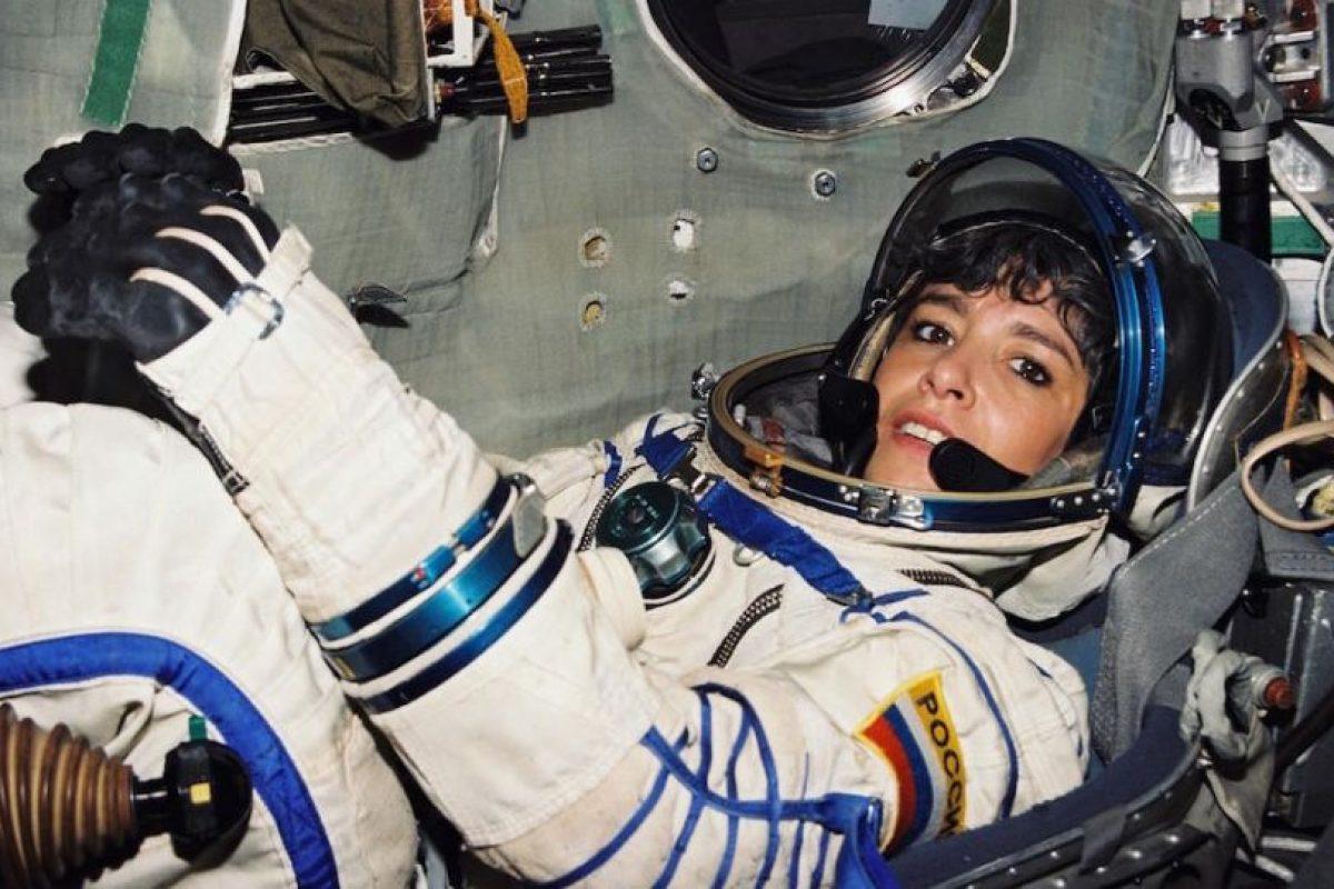 Haigneré en su etapa de astronauta Foto:Cité de l'espace. Imagen Por: