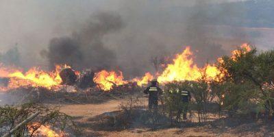 Incendio en Villa Alemana destruye 7 viviendas