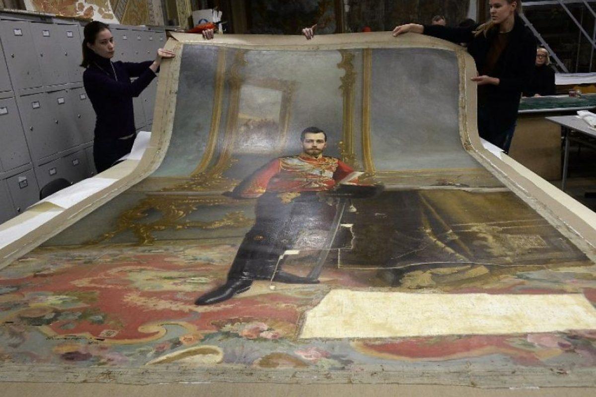 El último retrato del zar Nicolás II Foto:AFP. Imagen Por: