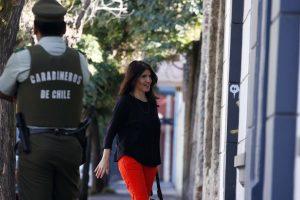 La nueva vocera ya formó parte del Gobierno de Bachelet, cuando al inicio de su segundo periodo, Narváez se desempeñó como jefa de Gabinete de la Presidencia, cargo que dejó a mediados de 2015 para hacer uso del derecho de prenatal. Foto:Agencia UNO. Imagen Por: