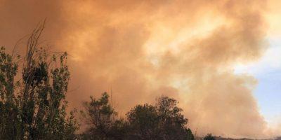21 incendios forestales afectan a todo el país