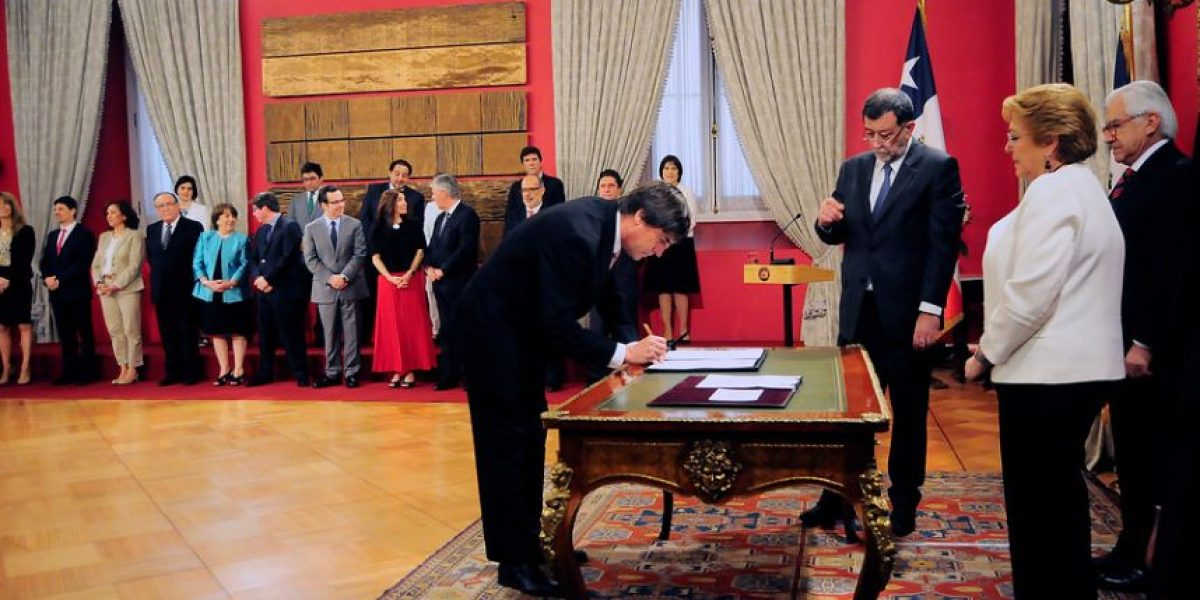 RN y sexto cambio de gabinete de Bachelet: