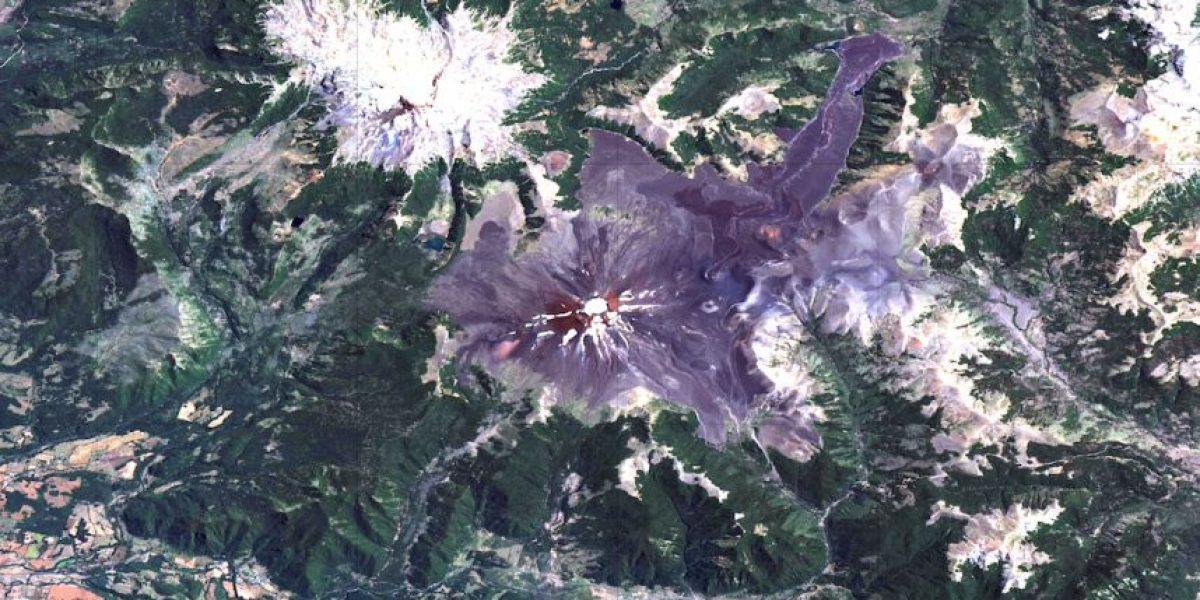 Las impactantes imágenes de los 90  volcanes activos de Chile vistos desde el espacio