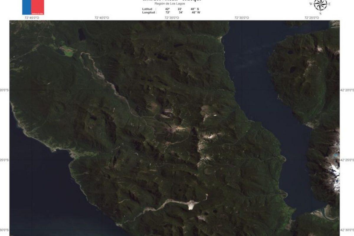 Las imagenes fueron compartidas por el Sernageomin y en ellas se pueden apreciar las dimensiones de cada volcán.. Imagen Por: